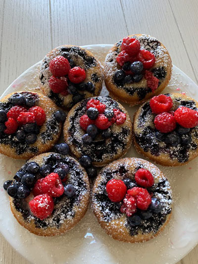 Berry Donuts